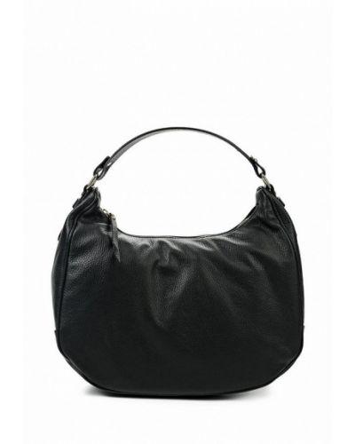 Черная сумка-хобо Lamania