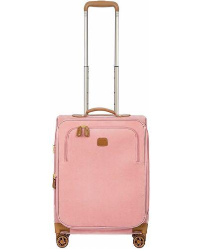 Różowa walizka Bric's