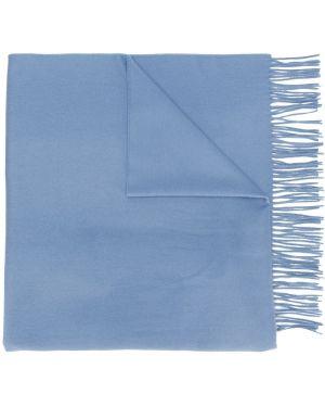 Синий шарф Pringle Of Scotland