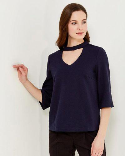 Блузка синяя весенний Sela