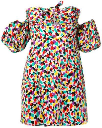 Блузка с завязками на молнии Attico