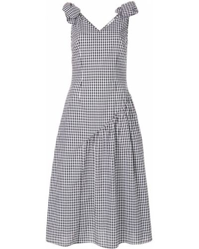 Платье с V-образным вырезом в клетку Rejina Pyo