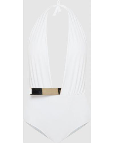 Белый купальник раздельный Moeva