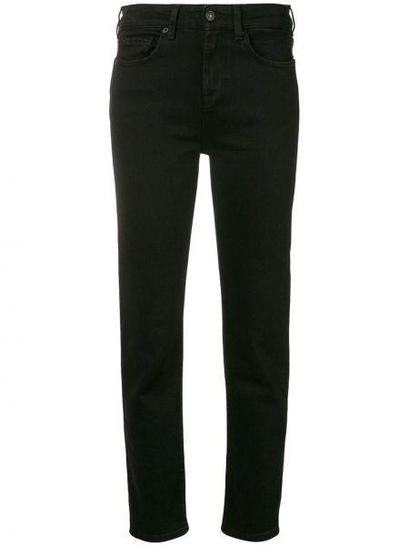 Укороченные брюки зауженные с карманами 7 For All Mankind