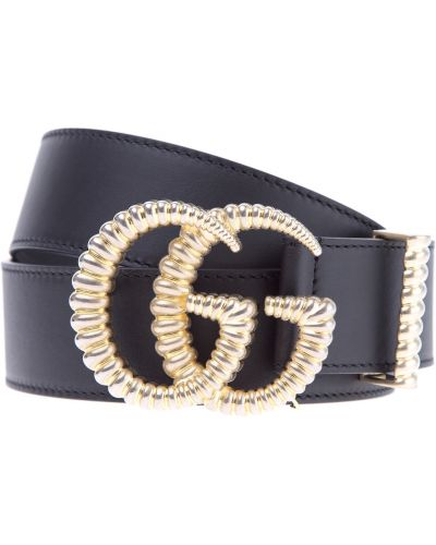 Ремень металлический с логотипом Gucci