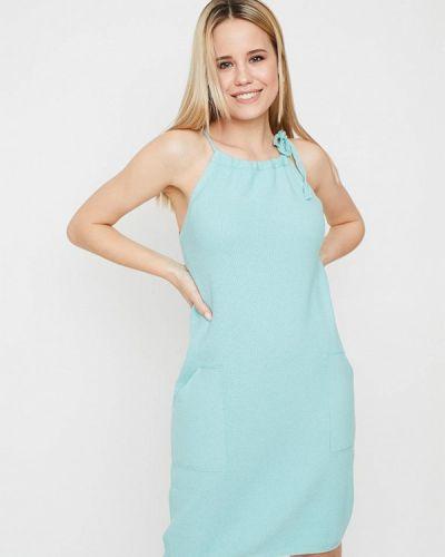 Бирюзовое платье Прованс