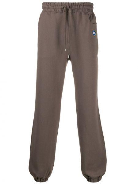 Spodnie bawełniane z haftem Ader Error