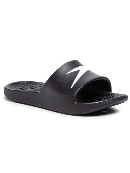 Czarne sandały Speedo