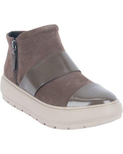 Ботинки на молнии коричневый Geox