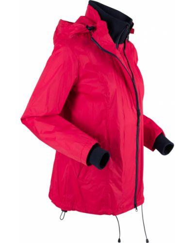 Куртка с капюшоном трансформер с карманами Bonprix
