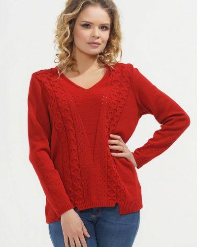 Красный пуловер 2018 Vay