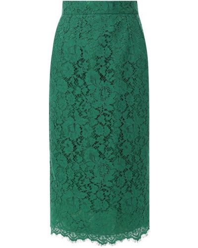 Юбка карандаш кружевная из вискозы Dolce & Gabbana