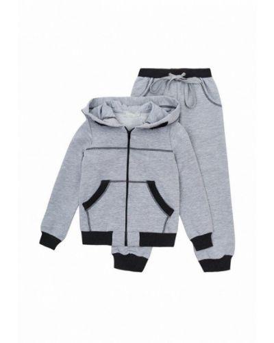 Костюмный серый спортивный костюм Kids Couture