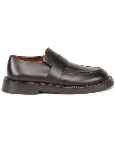 Brązowe loafers Marsell