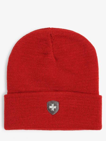 Czerwony czapka baseballowa Wellensteyn