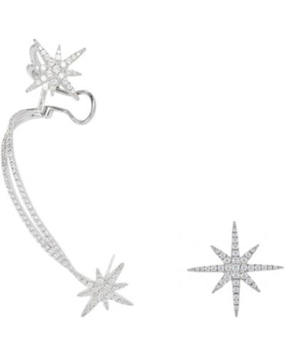 Серебряные серьги серебряный Apm Monaco