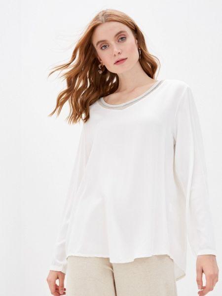 Белая блузка с длинным рукавом Zabaione