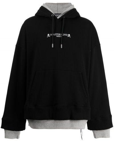 Czarna bluza z długimi rękawami Mastermind World