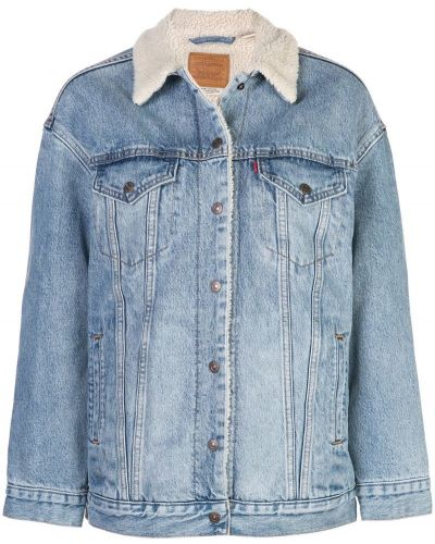 Джинсовая куртка оверсайз на пуговицах Levi's®