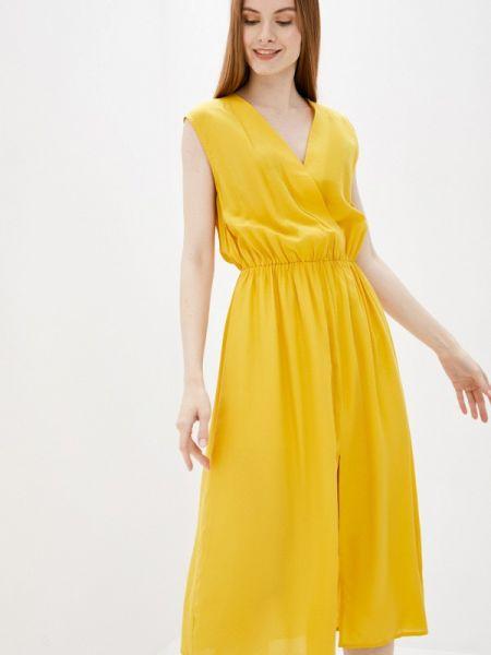 Желтое платье снежная королева