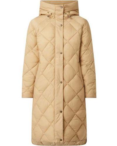 Beżowy płaszcz pikowany Barbour