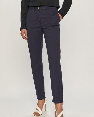 Spodnie materiałowe granatowe Trussardi Jeans