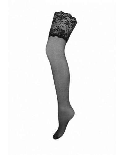 Чулки черные итальянский Mademoiselle