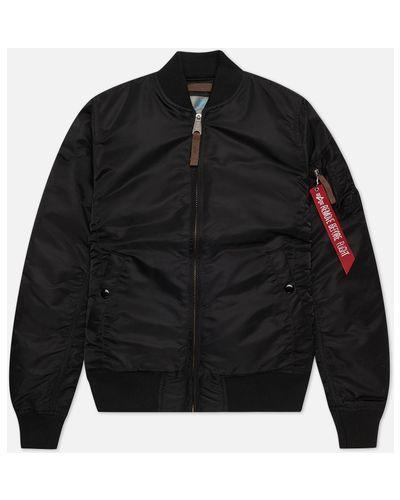 Прямая куртка MA-1 с подкладкой с воротником Alpha Industries