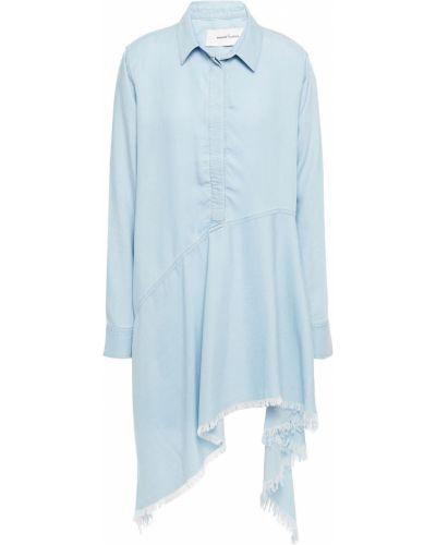 Sukienka mini - niebieska Marques Almeida