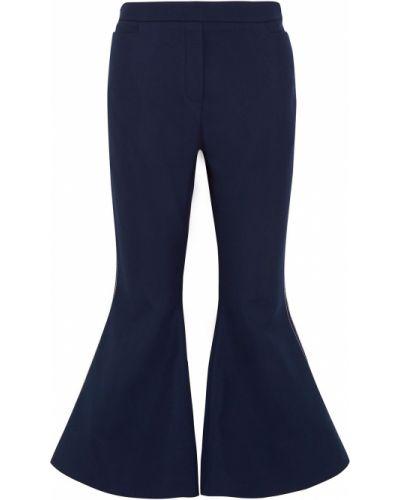 Spodnie wełniane rozkloszowane Ellery