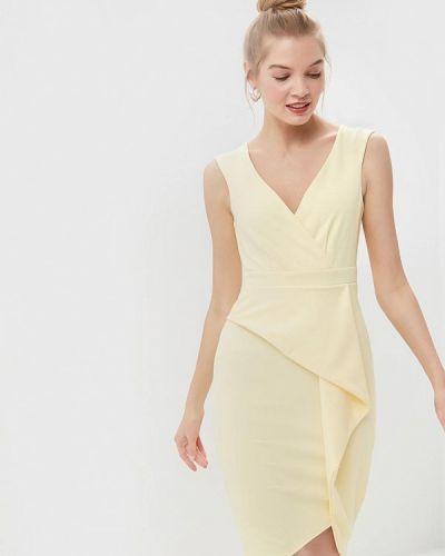 Платье желтый City Goddess