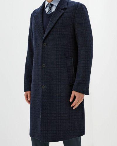 Пальто синий Topman