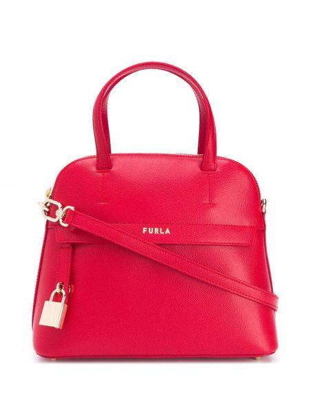 Кожаная сумка сумка-тоут с ручками Furla
