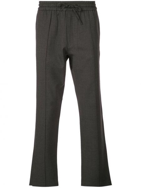 Прямые брюки с карманами новогодние Second/layer