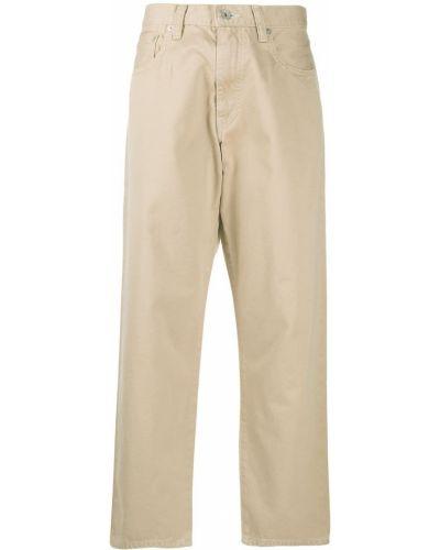 Хлопковые брюки с поясом свободного кроя Ma'ry'ya