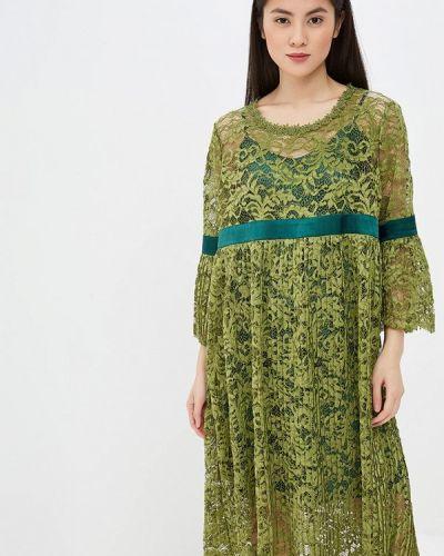 Повседневное платье весеннее хаки Madam T