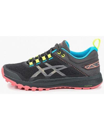 Черные кроссовки низкие Asics