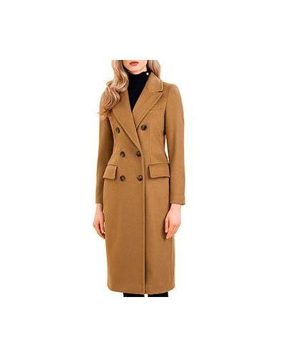 Пальто бежевое пальто Luisa Spagnoli
