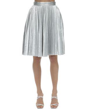 Spódnica srebrna Pushbutton