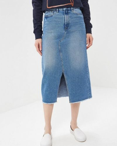 Юбка миди джинсовая Ichi