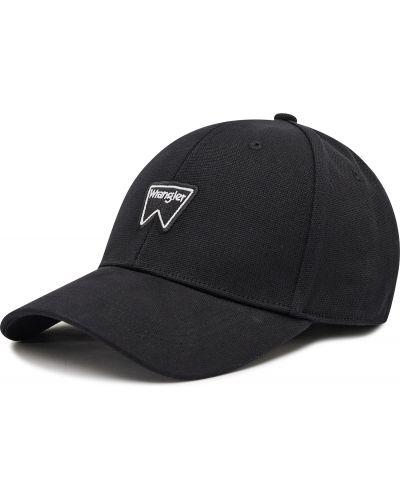 Czapka z daszkiem - czarna Wrangler