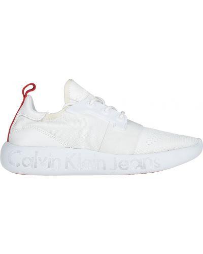 Белые кроссовки Calvin Klein Jeans