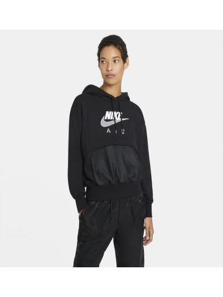 Ze sznurkiem do ściągania bluzka z kapturem z haftem Nike