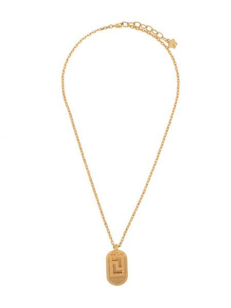 Ожерелье золотое с подвесками Versace