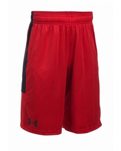 Красные шорты спортивные Under Armour