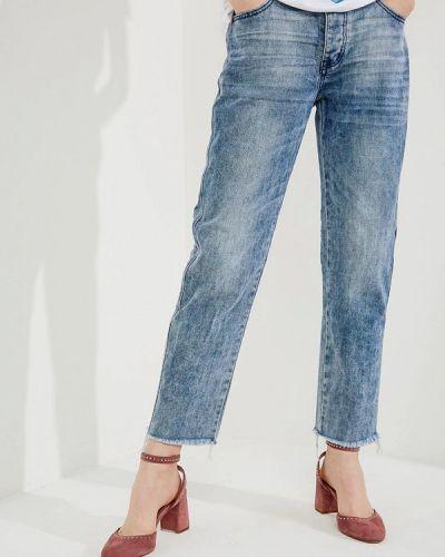 Голубые прямые джинсы One Teaspoon