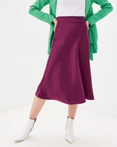 Фиолетовая юбка свободного кроя Trendyangel