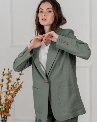 Льняной пиджак Azuri