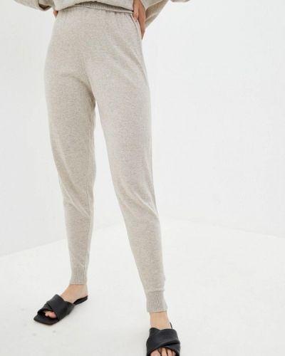 Повседневные бежевые брюки Nataclub