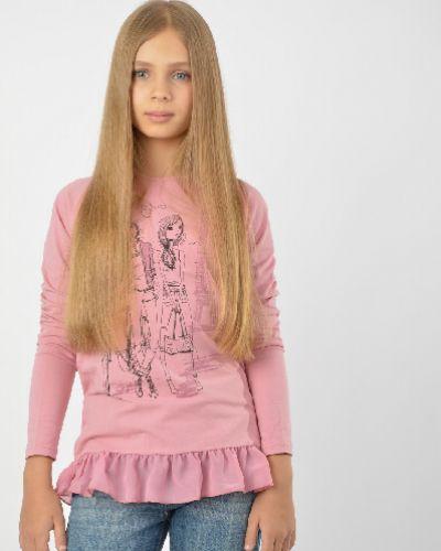 Лонгслив розовый S`cool